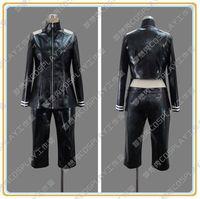 New Anime Tokyo Ghoul Ken Kaneki Cosplay Imitation Leather Costume