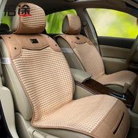 Along the way new summer ice silk car seat cushion summer Four Seasons General Liangdian car mats interior supplies