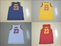 Cleveland #23 Lebron James Jersey New Material Rev 30 Basketball Jersey Authentic Jersey Stitched Logo Embroidery Sport Jersey