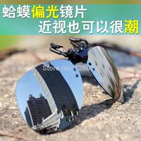 Myopia sunglasses clip night vision goggles sunglasses frogloks polarized sunglasses