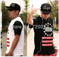 Men's t shirt summer 2014 fashion brand tshirt tee clothing casual hip-hop plus size WestCoast street men and women T-shirt