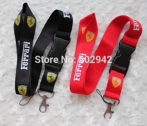 60pcs/lot popular Men's car Lanyard Lots Mobile neck strap for boys free shipping(China (Mainland))