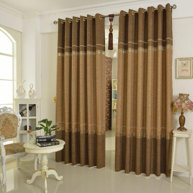 Online kopen wholesale luxe gordijnen voor de woonkamer uit china luxe gordijnen voor de - Gordijnen voor moderne woonkamer ...