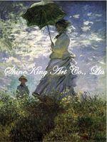 handpainted  impressionist oil painting reproduction art of famous artist Monet  Monet1044 50x70cm