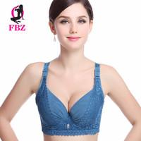 Sexy intimates women's deep V lace bra, brassiere,underwear 75 80 85 90 B C CUP underwear for women large size black blue bra