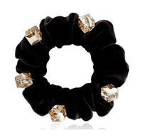 New Arrival Fashion Cloth Bow Hair Accesories Stereoscopic Crystal Hair Bands Korean Jewelry SF230