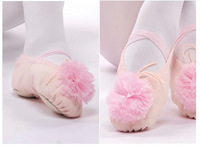 New Arrival soft sole girls ballet shoes Women Ballet Dance Shoes ladies flats both for children kids and adult
