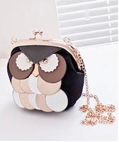 Owl Mini Shoulder Messenger Bag handbags summer fashion trend Korean chain bag factory outlets
