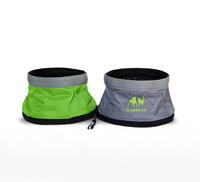 FREE SHIPPING Waterproof Folding Round Dog Bowl Foldable Dog Bowl Dog Bowl Pet Bowl