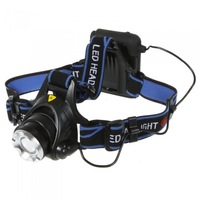 HOT SELLING Bicycle Head Front Headlamp T6 4000 Lumens LED Zoomable Head Torch Climbing Light Front Night Cycling  Flashlight