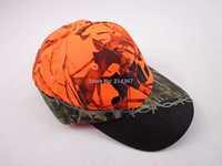 Blaze Orange Camouflage Hunter Caps Clothes Orange Realtree Camo Hunting Caps