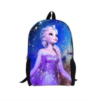 Free Shipping! 50pcs/lot The Newest Frozen Character Lunch Bag Cartoon Childers Lunchbox for Girls Lunch Tote A3277 Wholesale