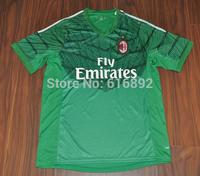 AC Milan green goalkeeper jersey thai 3A+++ quality AC MILAN soccer jersey green shirt