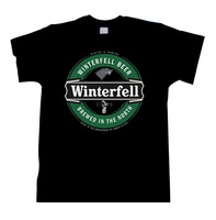 Winterfell Beer stark Game of Thrones Mat Winter is Coming Men Women T shirt