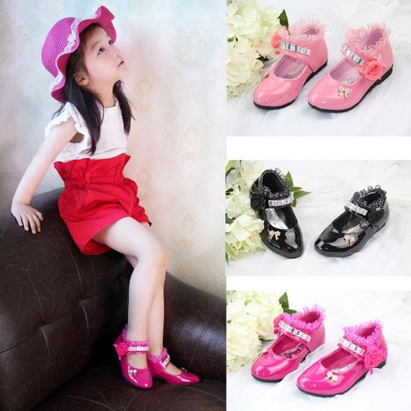 Кожаная обувь для девочек lippi sapatos