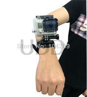 360 Degree Rotation Hand Camera Wrist Strap Belt  Band  Holder Mount for GoPro Hero 2/3/3 Plus SJ4000 Masturband  Hand bowl