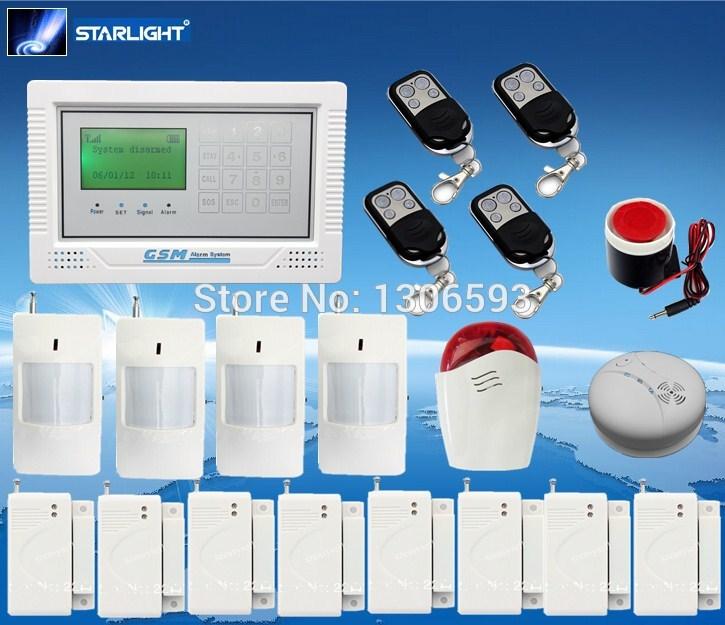 GSM alarm mms system Ourdoor siren motion wireless alarm Buglar alarm system good product GSM alarm system(China (Mainland))