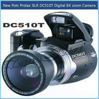 12MP CMOS DC510T DSLR digital Camera 2.4'' TFT LCD screen 8X Digital Zoom Wide-Angle Lens DC510T digital camcorder TV output