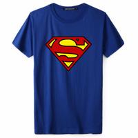 Brand Superman t shirt men clothing cotton gasp fitness singlet casual shirt men plus size(M L XL XXL XXXL 4XL 5XL 6XL 7XL)