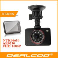Electronic 2014 new action camera DK800S Novatek 96650 Full HD Night Vision Car Detector DVRS for Ford focus 2 mini Recorder