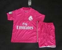 2015 Real Madrid home & away & Goalkeeper kids Ronaldo BENZEMA Bale ILLARRA isco ALONSO RAMOS DI MARIA soccer jersey Kids kit.