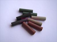 Dental lab materials, polishing materials, rubber polishing rods  Polished columns, polishing particles