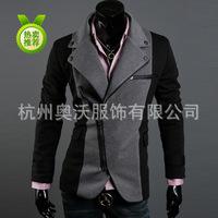 2014 Special Offer Hot Sale Freeshipping Conventional Jersey Zipper Regular Cotton Casaco Masculino Coats & Jackets Jacket W02