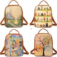 leather women backpack bolsas mochilas escolares feminines masculina 2014 school bags backpacks female for teenager girl bagpack