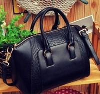 2014 New women handbag fashion brief crocodile pattern shoulder women messenger bags women leather handbags totes women bag