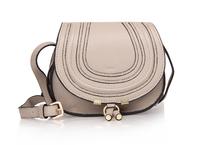 High quality original marcie saddle real calf leather light gray tote handbag shoulder bag fashion gift free shipping wholesale