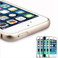 10 pcs/lot New Luxury Slim Aluminium Alloy Bumper Frame Case Cover for iphone 6 6plus