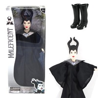 2014 New Arrival Movie & TV Maleficent girls 29cm Maleficent doll New Movie Toys for Children Free shipping