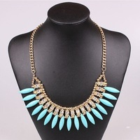 New Fashion Jewelry,Hot Sale  kallaite ivory shape necklace for women wholesale