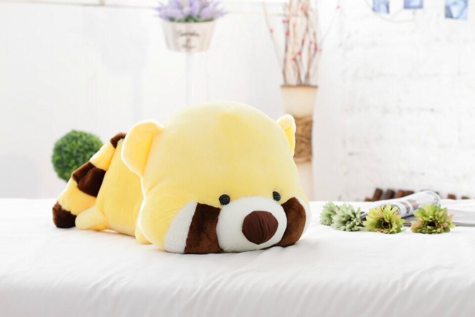 Free shipping the raccoon plush toy cute bear plush doll Christmas gift soft toy 60cm size(China (Mainland))