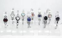 free shipping 10pcs/lot Mixed Bulk Lots 10pcs Stylish Lady girls Women Watches Bracelet wristwatches hot gift(birthday wedding)