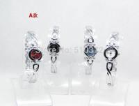 free shipping 5pcs/lot Mixed Bulk Lots 10pcs Stylish Lady girls Women Watches Bracelet wristwatches hot gift(birthday wedding)A