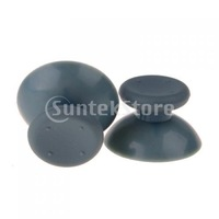 New 2014 Brand New 1 Pair of Game Analog Thumbsticks Parts Replacement Joysticks for Xbox 360 Controller - Grey   Fee Shipping