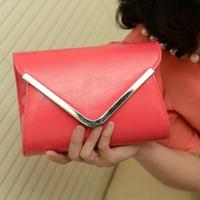 Envelope small cross-body bag day clutch female fresh women's handbag