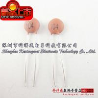 Free shipping 104 0.1UF 100NF 50V (100pcs)  Ceramic capacitors  ceramic capacitor