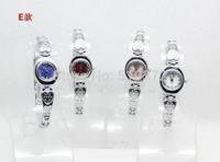 free shipping 10pcs/lot Mixed Bulk COLORS Stylish Lady girls Women Watches Bracelet wristwatches hot gift(birthday wedding)E