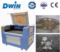 DW960 high precision co2 laser cutting machine