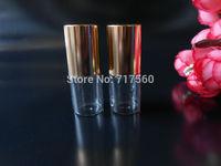 30x3ML LOT SMALL EMPTY PERFUME ROLL ON ROLLER BALL GLASS BOTTLE