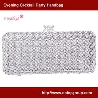 Exquisite workmanship high class baguette bag - wedding bridal handbag - evening banquet clutches