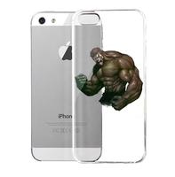 Lencase Case for iPhone 5/5S,Super Heros Series:Hulk VI