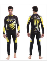 The business sent only authentic bike riding silicone cushion long sleeve cycling suits summer