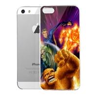 Lencase Case for iPhone 5/5S,Super Heros Series:Fantastic Four I