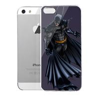 Lencase Case for iPhone 5/5S,Super Heros Series:Batman II