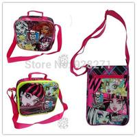 17 kinds of Monster High School Bags for Women Girls Children Backpack Mochila Escolar Cartoon Knapsack Bolsa Infantil Rucksack