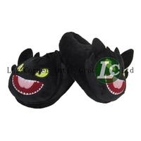 Retail Indoor Slipper Night Fury Dragon Slippers Cartoon Slipper Adult Sizes 28cm