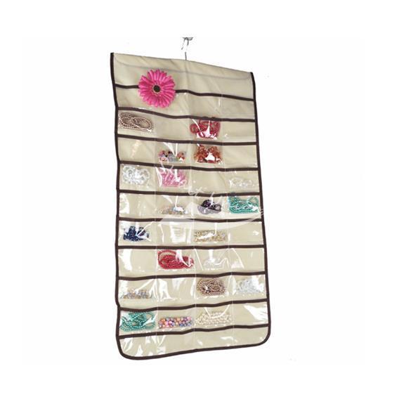Jewelry Hanging Storage Organizer Bag 80 Pocket(China (Mainland))